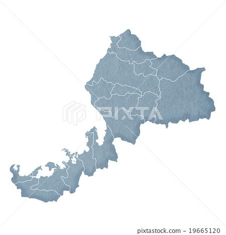 Fukui Prefecture Map 19665120