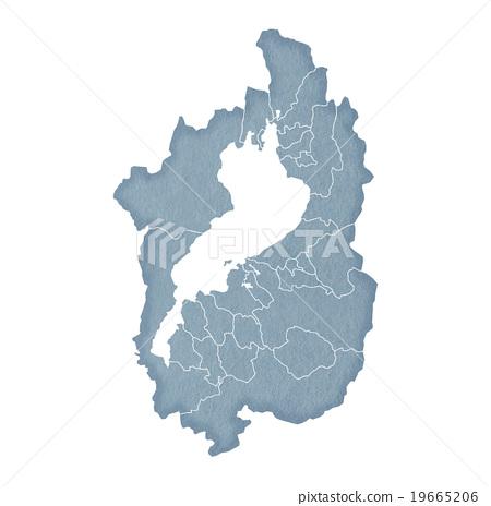 Shiga Prefecture Map 19665206