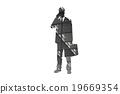 businessman silhouette illustration 19669354