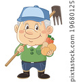 사람, 농가, 남성 19680125