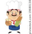 全身 面包房 男人们 19680138
