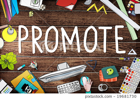 Promote Marketing Plan Commercial Promotion Concept 19681730