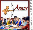 Ability Talent Strength Archery Aim Concept 19683839
