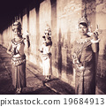 Cambodian Traditional Culture Apsara Female Tanquil Concept 19684913