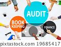 Audit Bookkeeping Finance Money Report Concept 19685417
