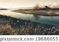 Beautiful Church Panoramic Serene New Zealand Concept 19686055