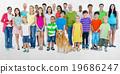 People Community Diversity Crowd Concept 19686247