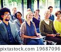Multiethnic Group Seminar Training Boardroom Concept 19687096