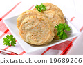 Sliced bread dumpling 19689206