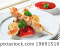 Chicken skewers 19691510
