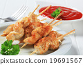 Chicken satay 19691567