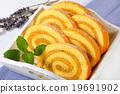 Mocha sponge cake roll 19691902