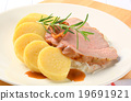 Pork with potato dumplings and white cabbage 19691921