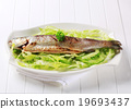 Grilled trout 19693437