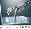 หุ่นยนต์,แล็ปท็อป,ปัญญาประดิษฐ์ 19698518