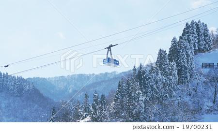 越后汤泽的雪山 19700231
