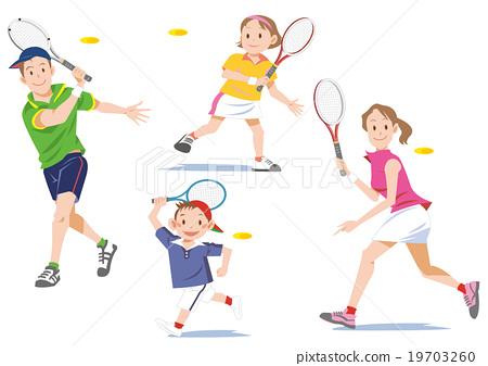 网球家庭 19703260