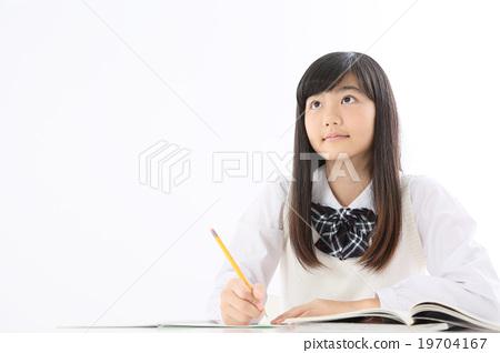 學習 高中女生 課程 19704167