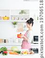 家庭主婦(廚房 - 食品) 19706518