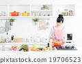 廚房 主婦 家庭主婦 19706523