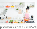 家庭主婦(廚房 - 食品) 19706524