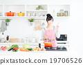 廚房 主婦 家庭主婦 19706526