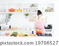 廚房 主婦 家庭主婦 19706527