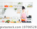 厨房 主妇 家庭主妇 19706528