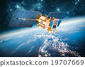 satellite space earth 19707669