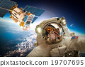 Astronaut in outer space 19707695
