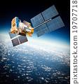 卫星 空间 地球 19707718