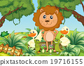 Wild animals in the jungle 19716155