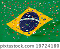 กีฬาโอลิมปิกริโอ _ ธงบราซิล _ ธงโลก 19724180