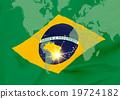 Rio Olympic - แผนที่โลก _ บราซิล 19724182