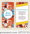 sport, fitness, banner 19725733
