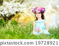 可爱的 开花 樱桃 19728921