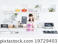 主婦 家庭主婦 廚房 19729403
