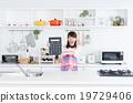 主婦 家庭主婦 廚房 19729406
