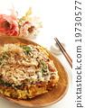 okonomiyaki, japanese food, japanese cuisine 19730577