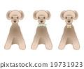 dog, vectors, vector 19731923