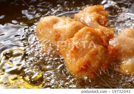 油炸食品 炸鸡 烹饪 19732043