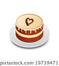 Valentines chocolate cake 19739471