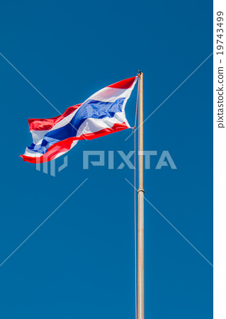 National flag Thailand 19743499