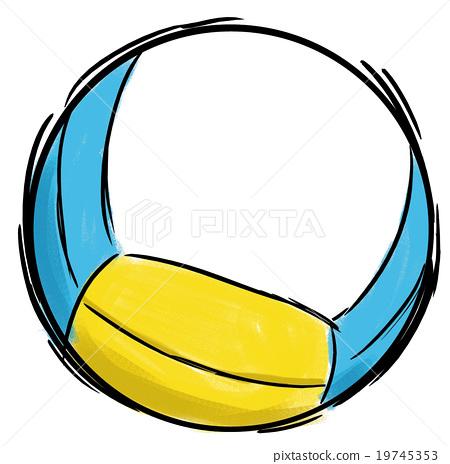 beach volleyball, ball, balls 19745353