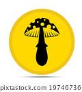 mushroom icon 19746736