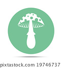 mushroom icon 19746737