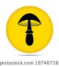 mushroom icon 19746738