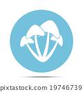 mushroom icon 19746739