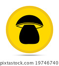 mushroom icon 19746740