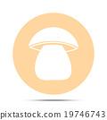 mushroom icon 19746743